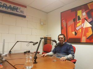 interview op radio Israël